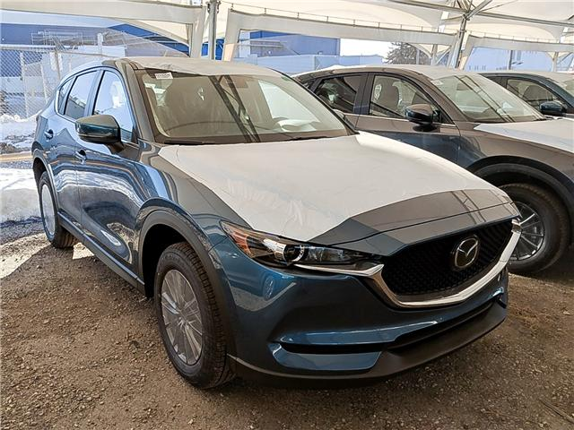 2019 Mazda CX-5 GS (Stk: H1655) in Calgary - Image 1 of 1