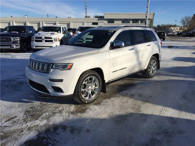 2019 Jeep Grand Cherokee Summit (Stk: 19GH4756) in Devon - Image 1 of 15