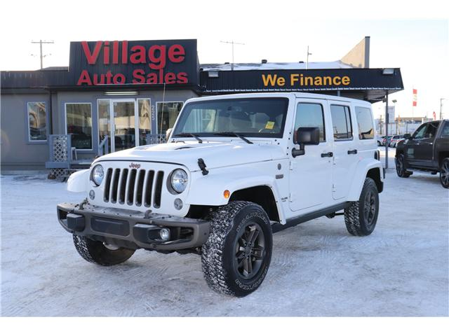 2017 Jeep Wrangler Unlimited Sahara (Stk: P35967) in Saskatoon - Image 1 of 23