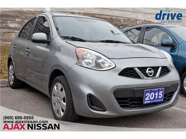 2015 Nissan Micra SV (Stk: U152A) in Ajax - Image 1 of 3