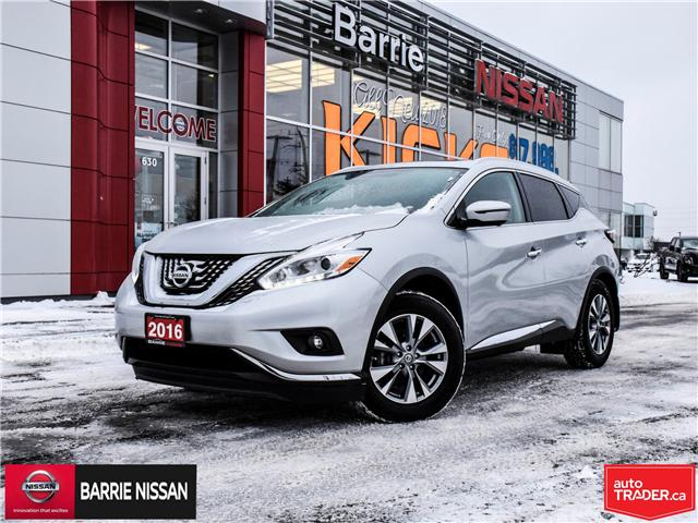2016 Nissan Murano SL (Stk: P4523) in Barrie - Image 1 of 29