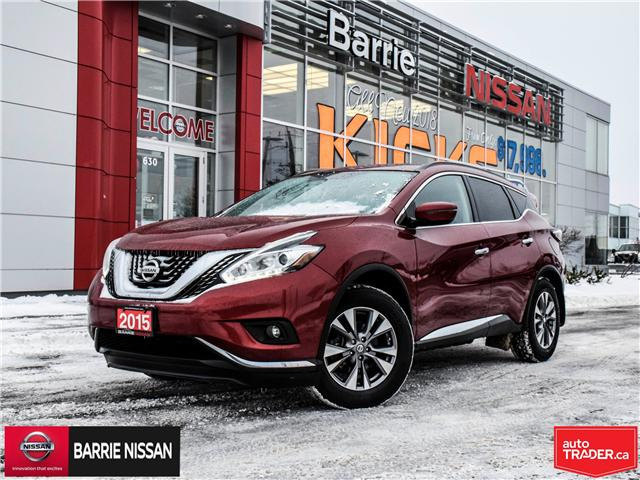 2015 Nissan Murano SV (Stk: P4528) in Barrie - Image 1 of 28