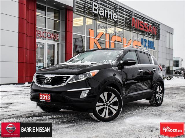 2013 Kia Sportage EX Luxury (Stk: 18504AA) in Barrie - Image 1 of 27