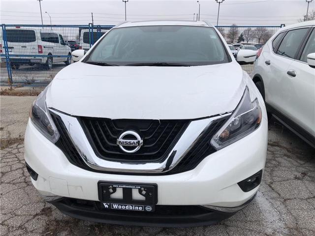 2018 Nissan Murano SL (Stk: MU91-18) in Etobicoke - Image 2 of 5