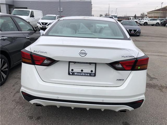 2019 Nissan Altima 2.5 Platinum (Stk: AL19-008) in Etobicoke - Image 5 of 5