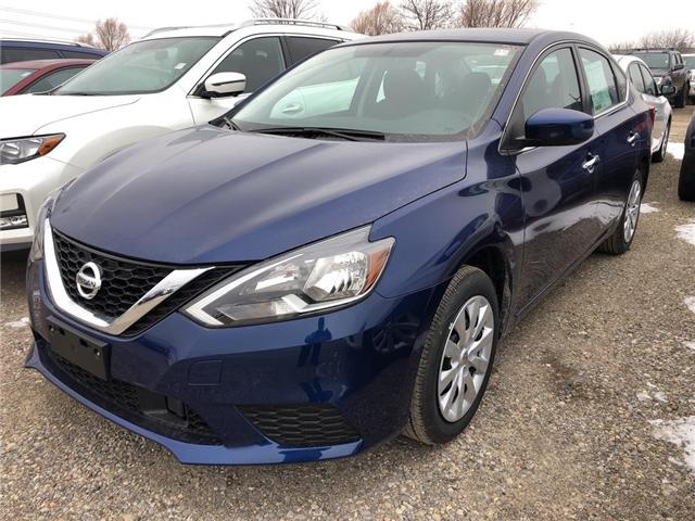 2019 Nissan Sentra 1.8 S (Stk: V0133) in Cambridge - Image 1 of 5