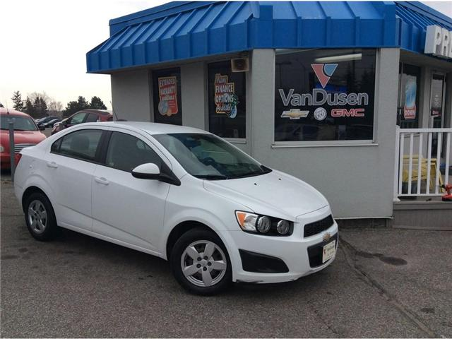 2015 Chevrolet Sonic LS Auto (Stk: B7235A) in Ajax - Image 1 of 21
