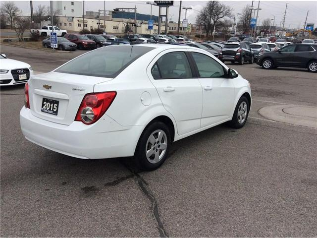 2015 Chevrolet Sonic LS Auto (Stk: B7235A) in Ajax - Image 17 of 21