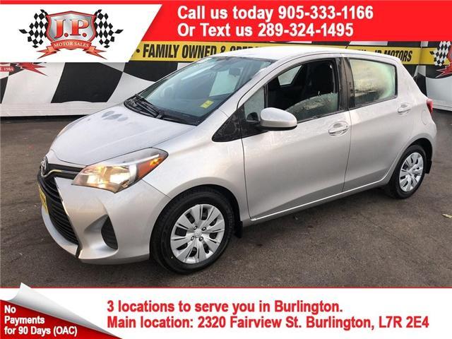 2017 Toyota Yaris LE (Stk: 45981r) in Burlington - Image 1 of 22
