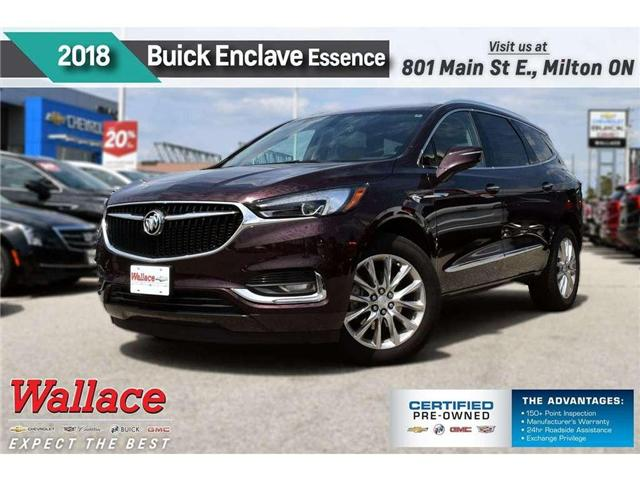2018 Buick Enclave ESSENCE/DEMO/AWD/NAV/DUAL SNRF/HTD STS/20s/ (Stk: 147808D) in Milton - Image 1 of 22