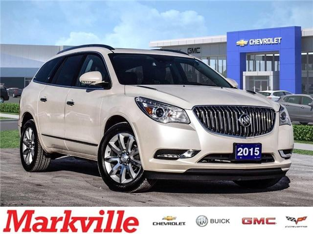 2015 Buick Enclave PREMIUM-AWD-NAV-RF-GM CERTIFIED PRE-OWNED-1 OWNER (Stk: 197395A) in Markham - Image 1 of 28
