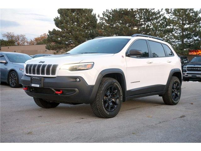 2019 Jeep Cherokee TRAILHAWK L PLUS| PARALLEL PARK ASSIST| LOADED! (Stk: J1204A) in Burlington - Image 3 of 30