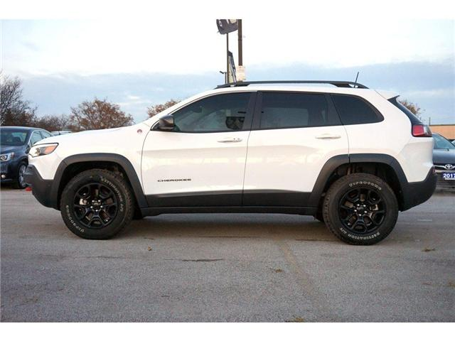 2019 Jeep Cherokee TRAILHAWK L PLUS| PARALLEL PARK ASSIST| LOADED! (Stk: J1204A) in Burlington - Image 4 of 30