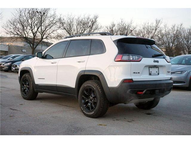 2019 Jeep Cherokee TRAILHAWK L PLUS| PARALLEL PARK ASSIST| LOADED! (Stk: J1204A) in Burlington - Image 6 of 30