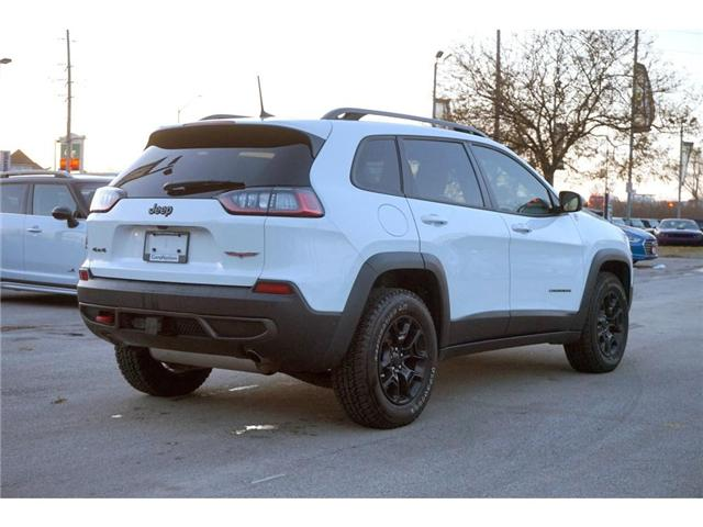 2019 Jeep Cherokee TRAILHAWK L PLUS| PARALLEL PARK ASSIST| LOADED! (Stk: J1204A) in Burlington - Image 9 of 30