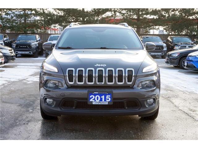 2015 Jeep Cherokee NORTH| NAV-READY| SUNROOF| PWR TAILGATE (Stk: K404A) in Burlington - Image 2 of 30