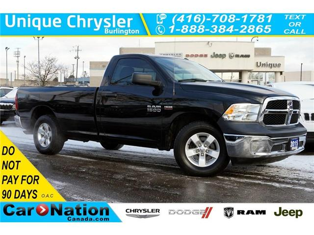 2015 RAM 1500 SXT| LONG BOX| REAR SLIDING WINDOW| BLUETOOTH (Stk: J898A) in Burlington - Image 1 of 30