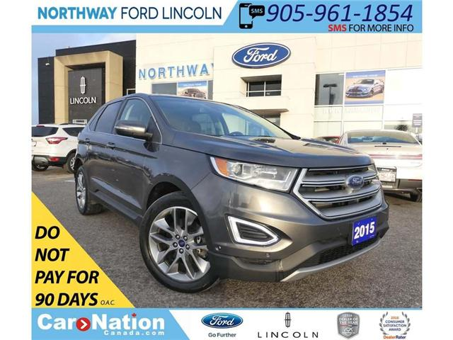 2015 Ford Edge Titanium   AWD   NAV   PANOROOF (Stk: EX94120A) in Brantford - Image 1 of 30