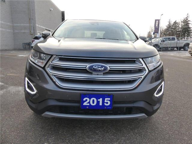 2015 Ford Edge Titanium   AWD   NAV   PANOROOF (Stk: EX94120A) in Brantford - Image 2 of 30