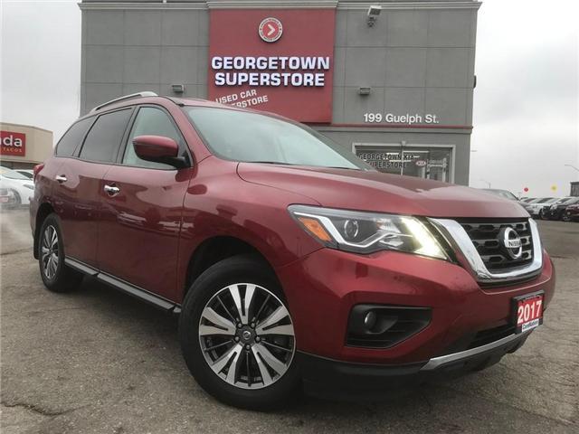 2017 Nissan Pathfinder SV | 4X4 | 7 PASS | BU CAM | HTD SEATS | BLUETOOTH (Stk: DR470) in Georgetown - Image 2 of 30