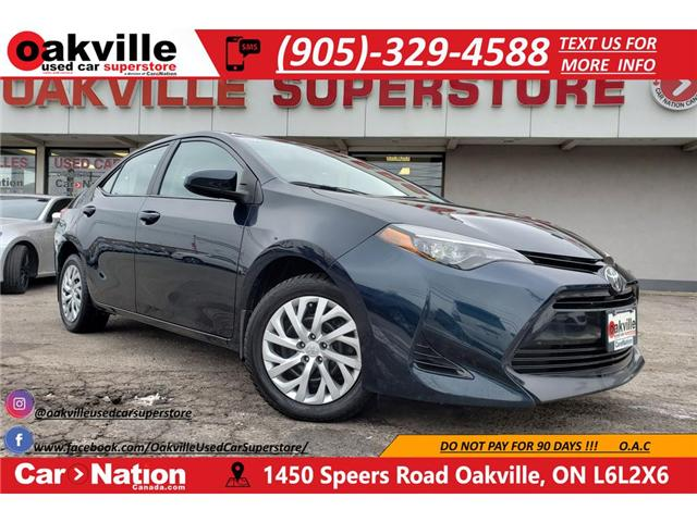 2017 Toyota Corolla LE | B/U CAM | BLUETOOTH | HEATED SEATS (Stk: DR452) in Oakville - Image 1 of 23