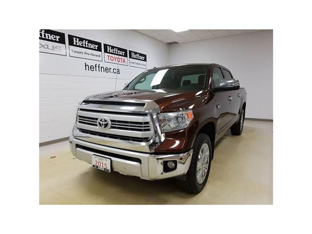 2015 Toyota Tundra Platinum 5.7L V8 (Stk: 185638) in Kitchener - Image 1 of 24
