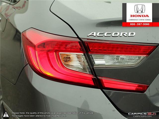 2018 Honda Accord EX-L (Stk: 18470A) in Cambridge - Image 12 of 27