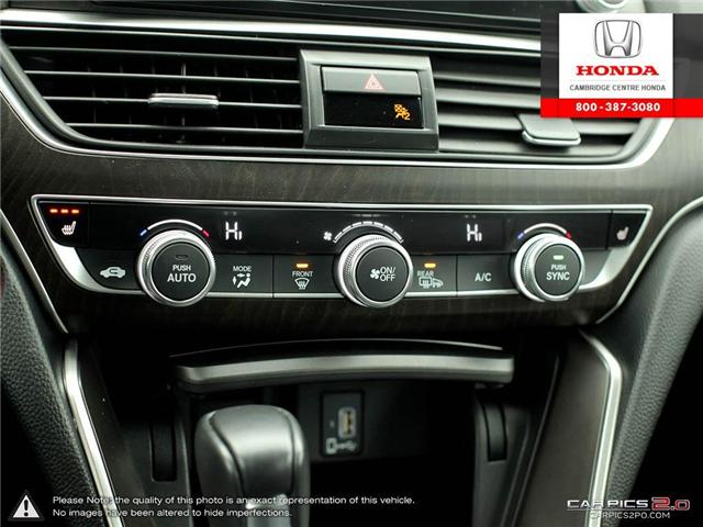 2018 Honda Accord EX-L (Stk: 18470A) in Cambridge - Image 20 of 27