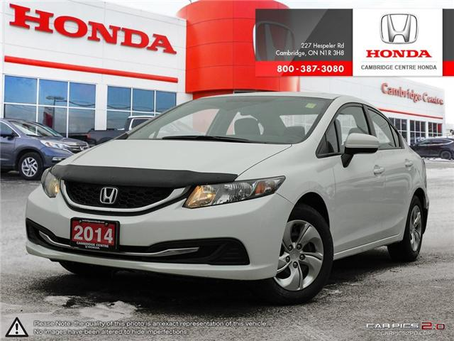 2014 Honda Civic LX (Stk: 19397A) in Cambridge - Image 1 of 27