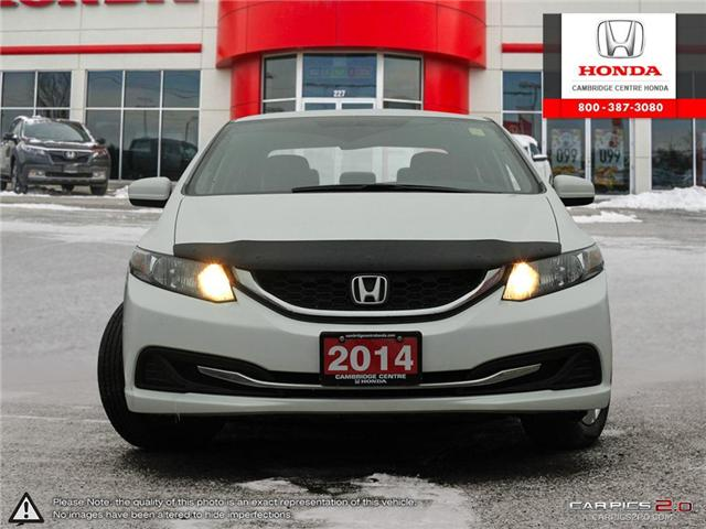 2014 Honda Civic LX (Stk: 19397A) in Cambridge - Image 2 of 27