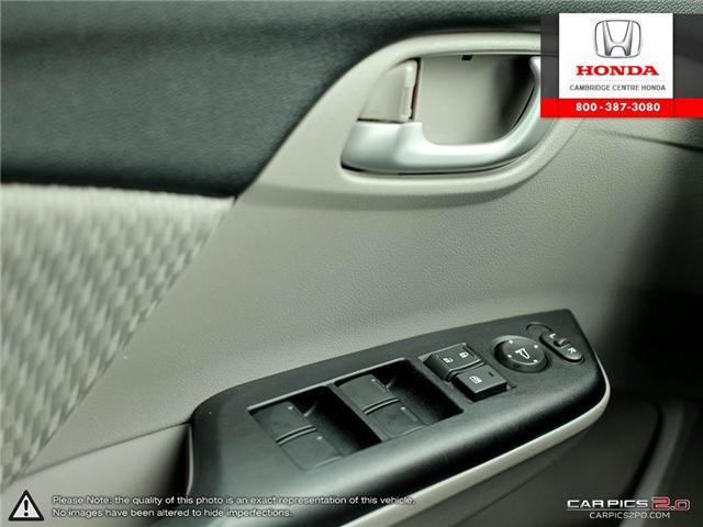 2014 Honda Civic LX (Stk: 19397A) in Cambridge - Image 17 of 27