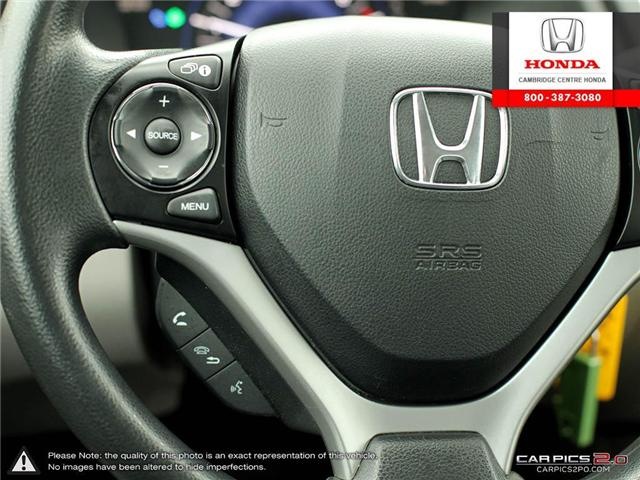 2014 Honda Civic LX (Stk: 19397A) in Cambridge - Image 18 of 27