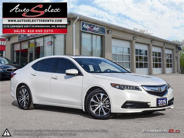 2015 Acura TLX  (Stk: 1ALTW939) in Scarborough - Image 1 of 29