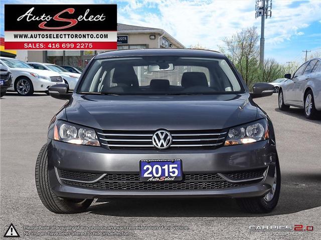 2015 Volkswagen Passat  (Stk: 1VPTA929) in Scarborough - Image 2 of 28
