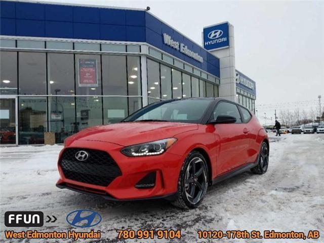 2019 Hyundai Veloster Turbo Tech (Stk: E4270) in Edmonton - Image 1 of 20