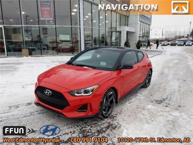 2019 Hyundai Veloster Turbo Tech (Stk: E4270) in Edmonton - Image 2 of 20