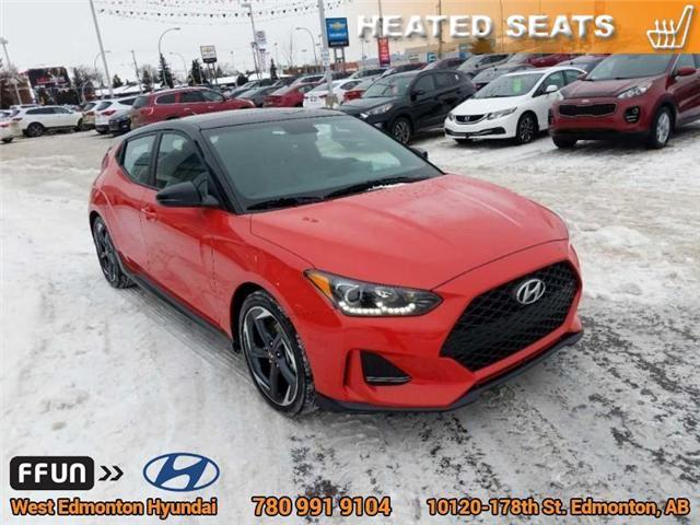 2019 Hyundai Veloster Turbo Tech (Stk: E4270) in Edmonton - Image 4 of 20