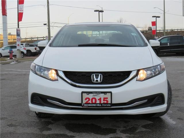 2015 Honda Civic EX (Stk: 190284P) in Richmond Hill - Image 2 of 17