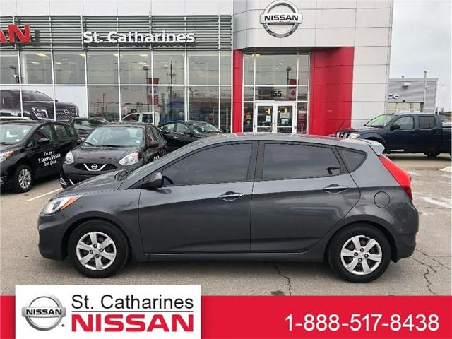 2012 Hyundai Accent GL (Stk: DRS001) in St. Catharines - Image 1 of 18
