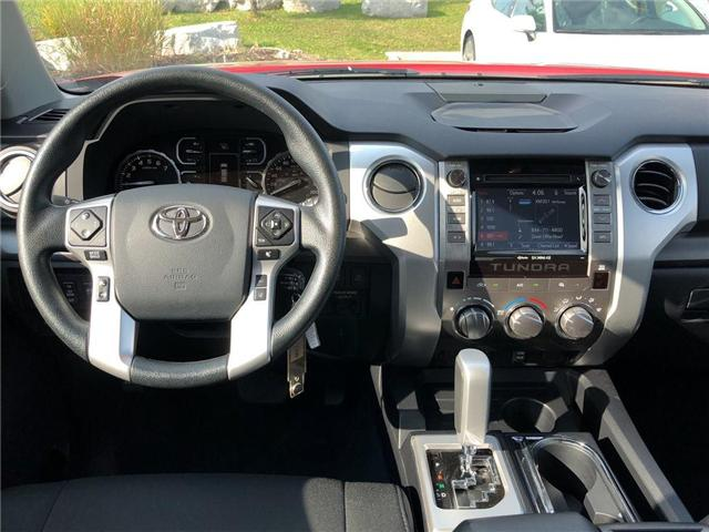 2018 Toyota Tundra SR5 Plus 5.7L V8 (Stk: P1577) in Whitchurch-Stouffville - Image 11 of 19