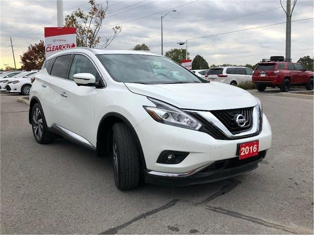 2016 Nissan Murano Platinum (Stk: P1609) in Whitchurch-Stouffville - Image 7 of 23