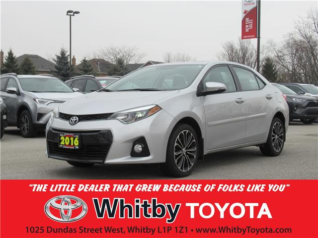 2016 Toyota Corolla  (Stk: 90069A) in Whitby - Image 1 of 21