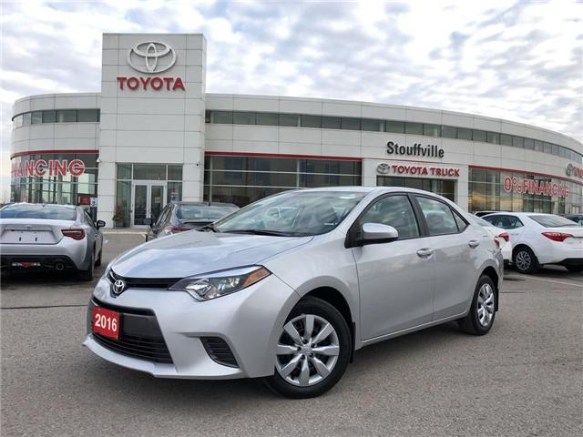 2016 Toyota Corolla LE (Stk: P1672) in Whitchurch-Stouffville - Image 1 of 21