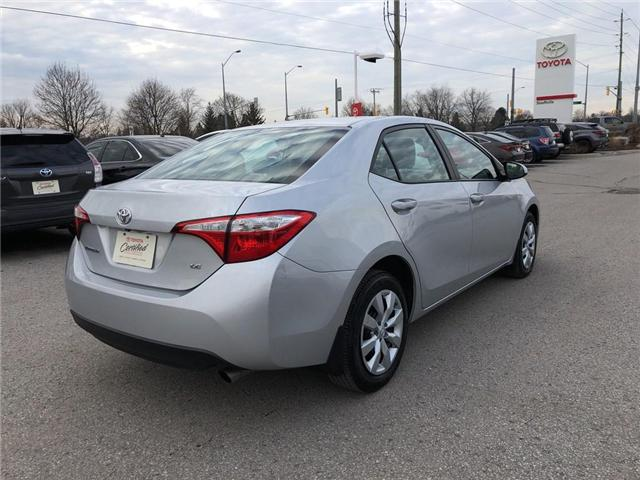 2016 Toyota Corolla LE (Stk: P1672) in Whitchurch-Stouffville - Image 5 of 21