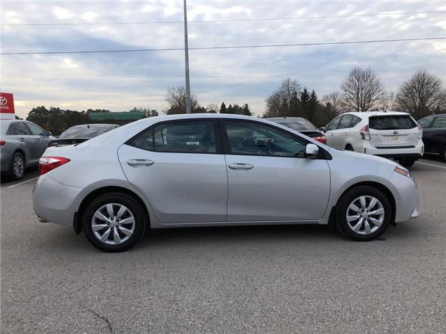 2016 Toyota Corolla LE (Stk: P1672) in Whitchurch-Stouffville - Image 6 of 21