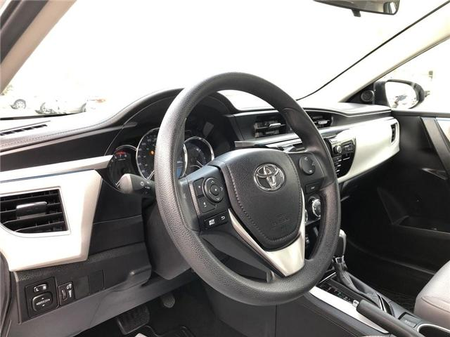 2016 Toyota Corolla LE (Stk: P1672) in Whitchurch-Stouffville - Image 10 of 21