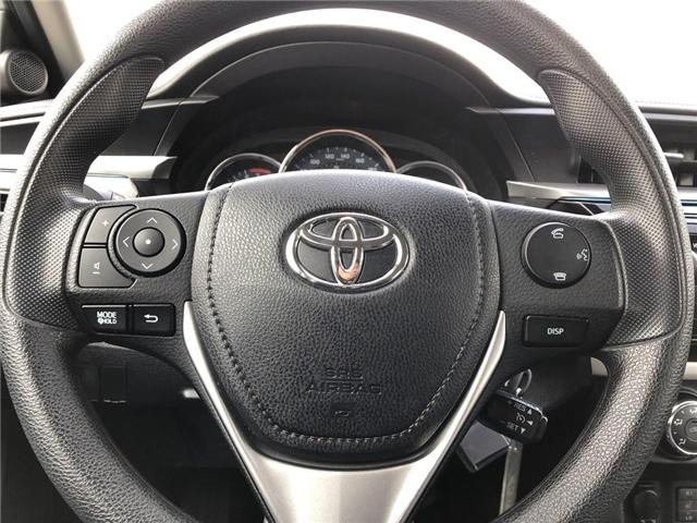 2016 Toyota Corolla LE (Stk: P1672) in Whitchurch-Stouffville - Image 12 of 21