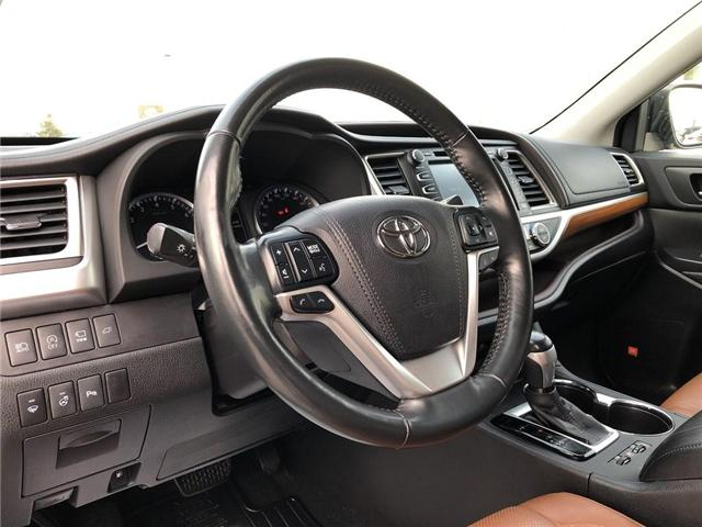 2017 Toyota Highlander Limited (Stk: 180299AA) in Whitchurch-Stouffville - Image 10 of 25