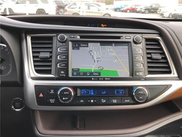 2017 Toyota Highlander Limited (Stk: 180299AA) in Whitchurch-Stouffville - Image 18 of 25