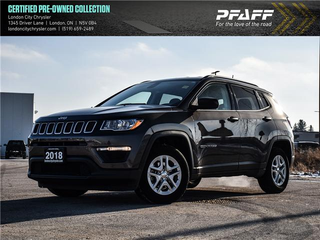 2018 Jeep Compass  (Stk: 8953A) in London - Image 1 of 20
